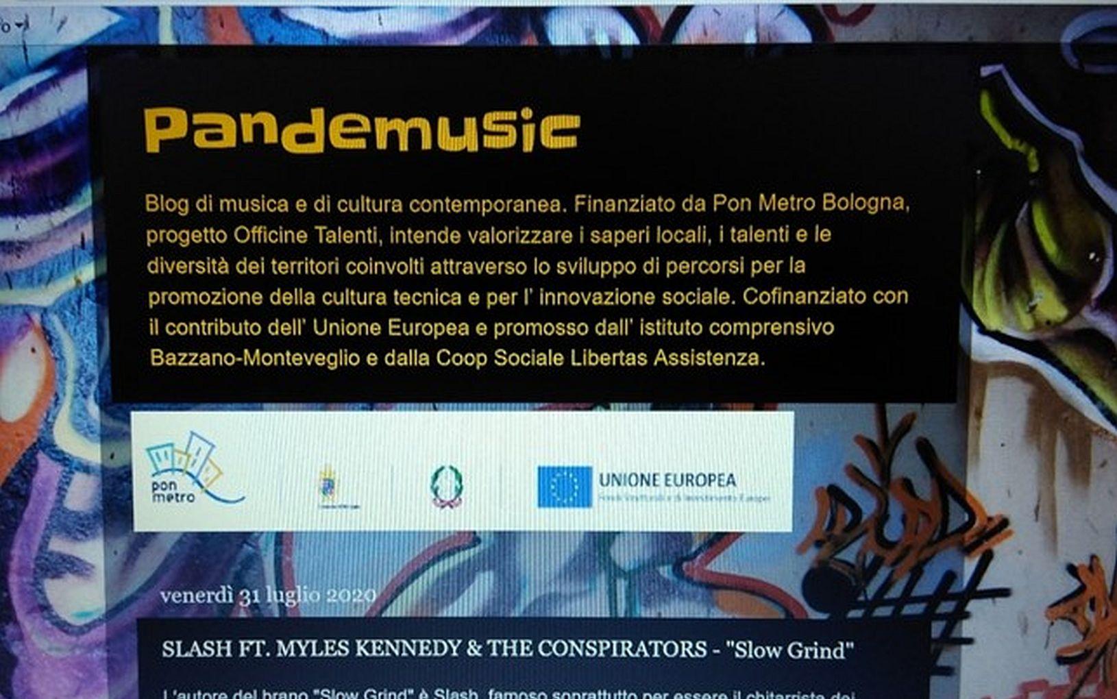 Pandemusic, il blog dei ragazzi di Officine Talenti